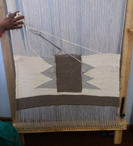 Traditional African rug